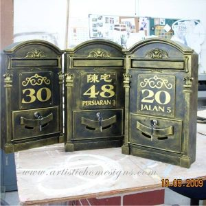 MLB-001 Antique Gold Finishing