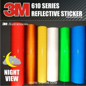 3M 610 Series Reflective Stickers