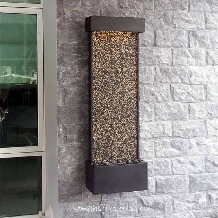 Pebble Stone Wall Fountain WWP-415_4
