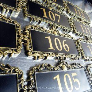 DOR-001 Hotel Room Number