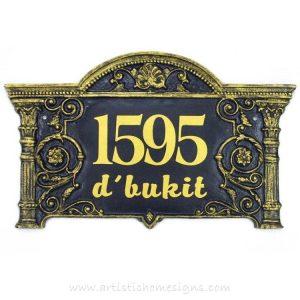 LAC-006 Lace Sign Antique Gold 1595