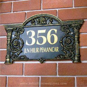 LAC-006 Lace Sign Antique Gold 356