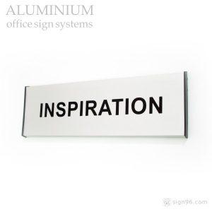 DOR-862 Aluminium Slatz Door Sign