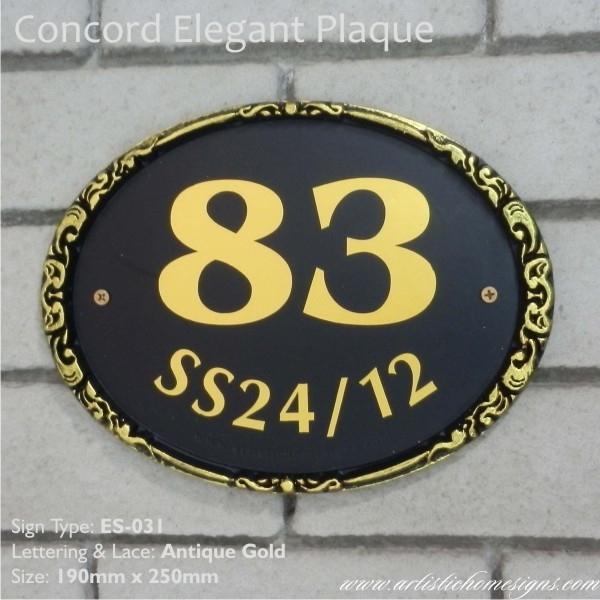 ES-031 Antique Gold
