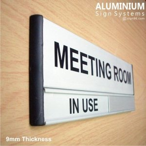 DOR-823 Aluminium Meeting Room Sign