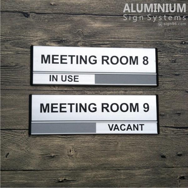 DOR-823 Aluminium Meeting Room Sign