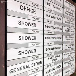 DOR-823 Aluminium Office Room Door Sign