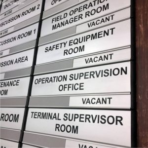 DOR-823 Aluminium Office Room Door Sign