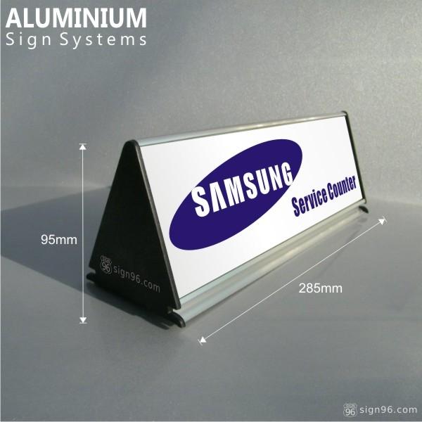 DTS-801 Triangular Samsung Service Center Sign