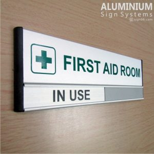 DOR-823 First AID Room Sign