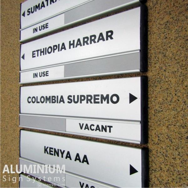 DOR-823 Directional Meeting Room Door Signs