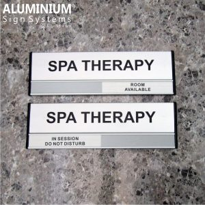 DOR-823 Aluminium SPA Therapy Room Sign
