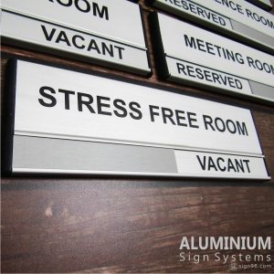 DOR-823 Stress Free Conference Room Sign