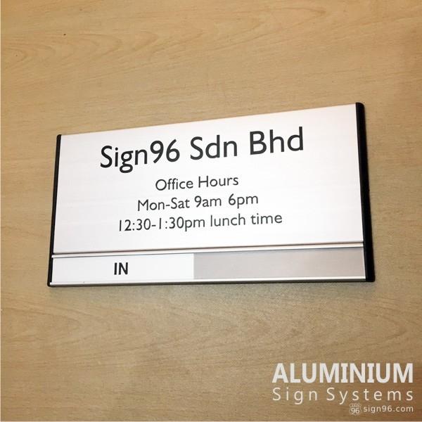 DOR-825 Office Hours Door Sign