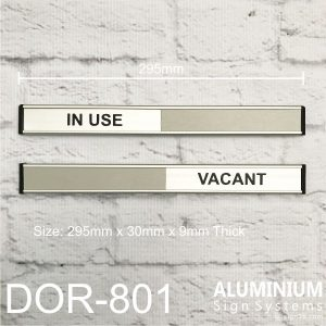 DOR-801 Vacant / In use