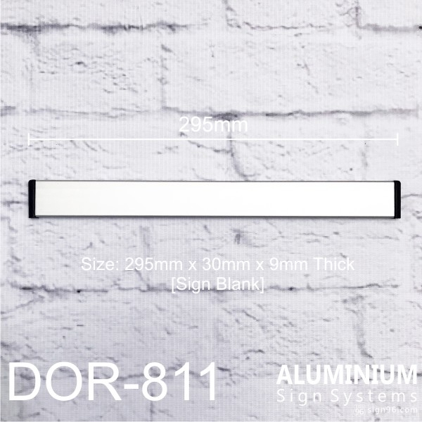 DOR-811 sign blank