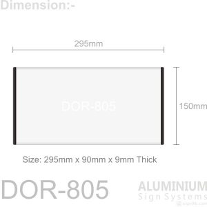 DOR-805 Door Sign