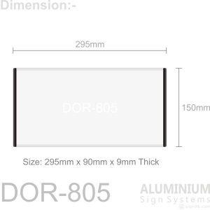 DOR-805 Door Sign