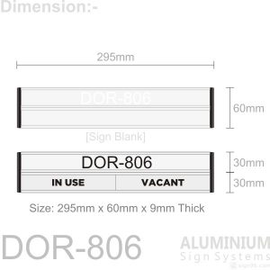 DOR-806 Door Sign