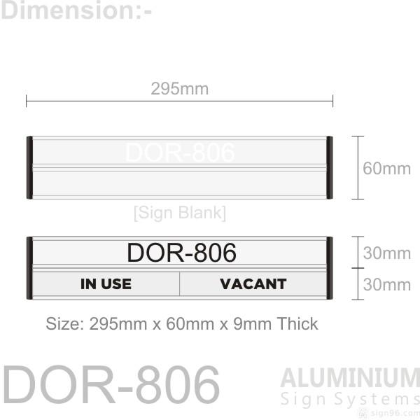DOR-806 Door Sign