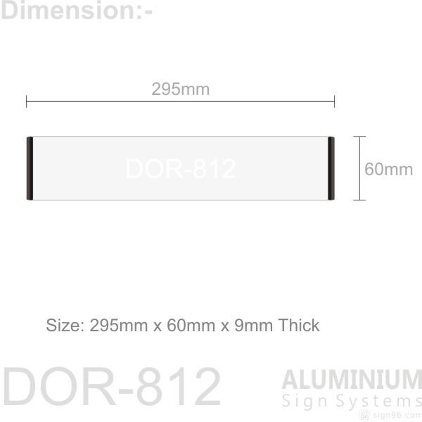 DOR-812 2 sign blank