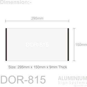 DOR-815 Door Sign