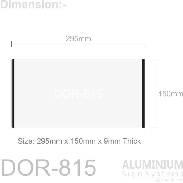 DOR-815 Door Sign
