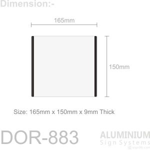 DOR-883 Door Sign