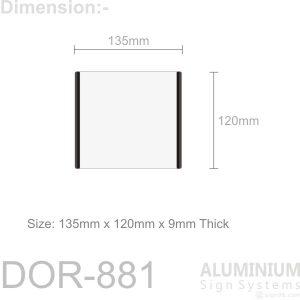 DOR-882 Door Sign