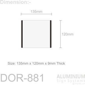 DOR-871 Door Sign