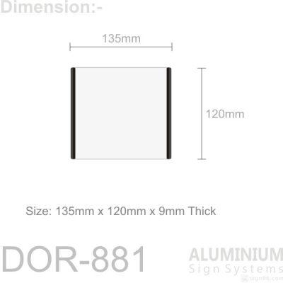 DOR-871 Door Sign