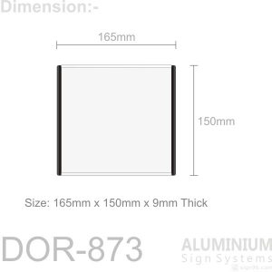 DOR-873 Slider Door Sign