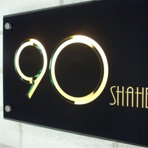 3D Engraving Edge Lit Growing Illuminated Acrylic Warm White LED Light Sign