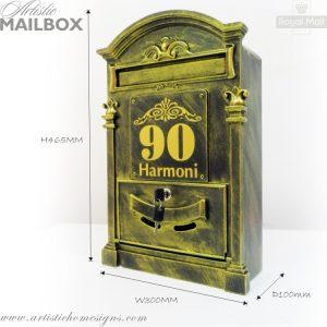MLB-002 Victorian Mailbox