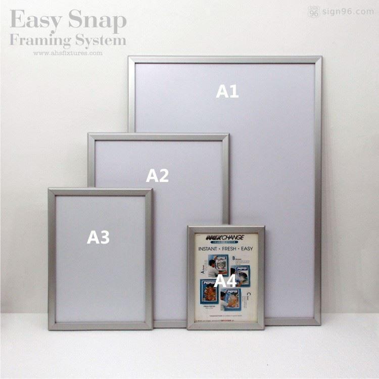 Nexchange Aluminium Snap Frame