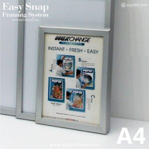 Nexchange Aluminium Snap Frame 004 A4 Size