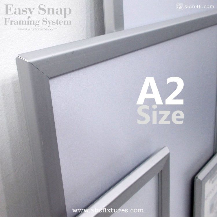 Nexchange Aluminium Snap Frame 005 A2 Size