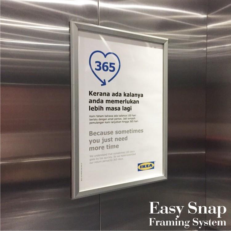 A3 Nexchange Aluminium Snap Frame Ikea 02