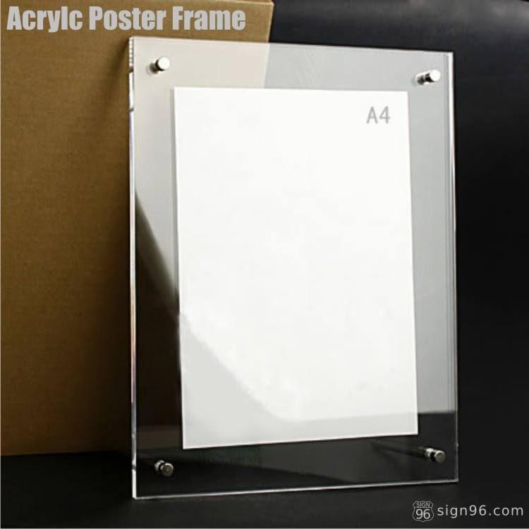 A4 Desktop Acrylic Frame
