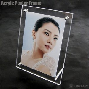A3 Desktop Acrylic Frame