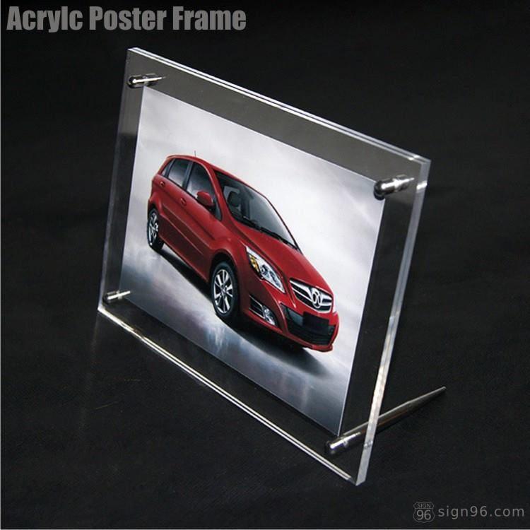 A5 Desktop Acrylic Frame