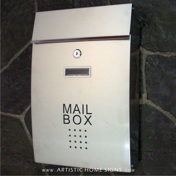 MLB-306 SS Mailbox