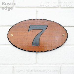 WDO-145 Wooden Sign Black Letters 7