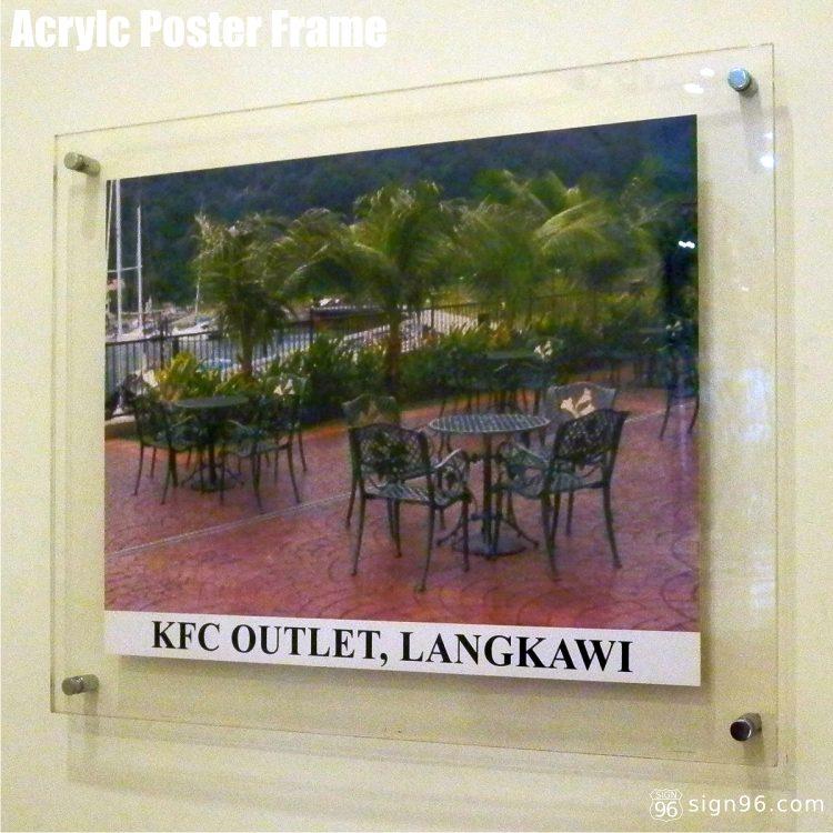 Acrylic Poster Frame 01