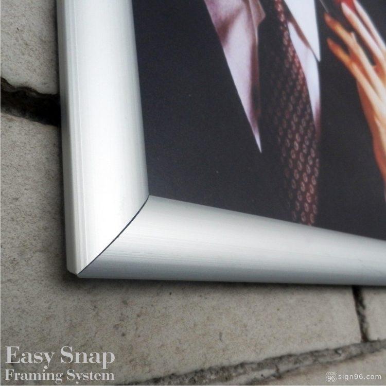 A3 Easy Snap Aluminium Framing System 03