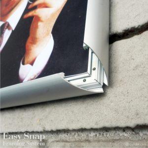 A3 Easy Snap Aluminium Framing System 04