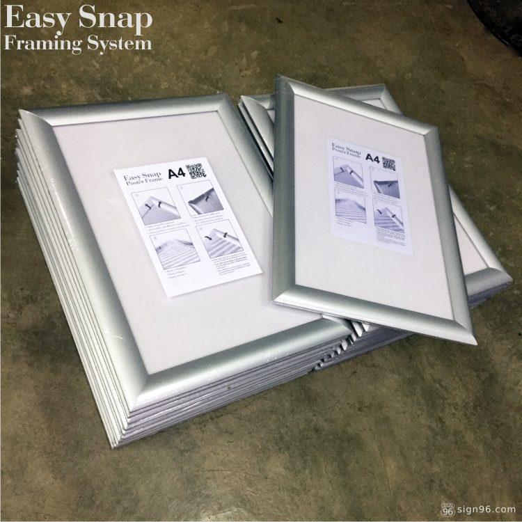 Easy Snap Aluminium Framing System 08