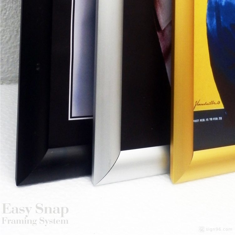Color Easy Snap Aluminium Framing System 14