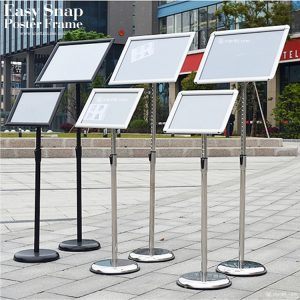 Easy Snap Poster Frame Display Stand 09