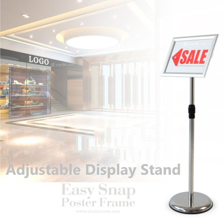 Easy Snap Poster Frame Display Stand 07